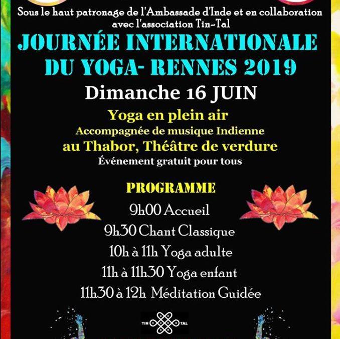 Journée internationale du yoga 2019 organisé par Tin-Tal et l'Ambassade de l'Inde